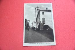 Cuneo Cavallermaggiore Via Roma Con A Dx Scritte Era Fascista NV - Altre Città