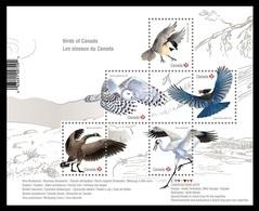 Canada 2018 Mih. 3652/56 (Bl.279) Fauna. Birds Of Canada MNH ** - 1952-.... Reinado De Elizabeth II