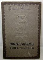NINO GIORGIS CUNEO CARDPORTAFOTO PORTAFOTO CARTONCINO VINTAGE - Materiale & Accessori