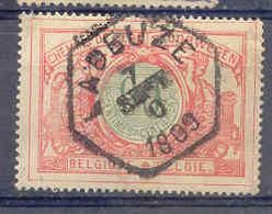 A528 -België  Spoorweg Chemin De Fer Met Stempel LADEUZE  Zeshoekig Stempel - 1915-1921