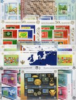Varia CEPT Blocks+Bl.Marken ** 482€ Bloque Hoja Blocs S/s Sheets M/s Topics Stamps On Stamp 50 Years Bf EUROPA 2006 - Timbres