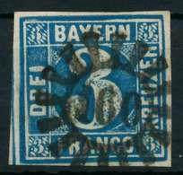 BAYERN QUADRATE Nr 2II GMR 160 Zentrisch Gestempelt X87E166 - Bavière