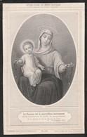 Zuster Nathalia Francisca Zwaenepoel-breedene 1852-antwerpen 1899 - Images Religieuses