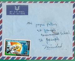 ! - Grenade (Grenada) - Enveloppe Avec 1 Timbre - Envoi Vers St-Joseph (Trinidad) - Grenade (1974-...)