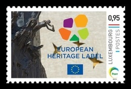 Luxembourg (Meng Post) 2018 No. 110 Schengen Added To The European Heritage Label List MNH ** - Neufs