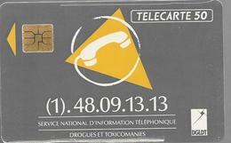 Telecarte 50 - Service National D'information Téléphonique - Téléphones