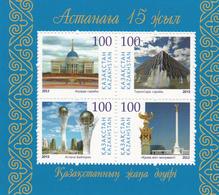 2013  Kazakhstan Renaming Astana Complete Set Of 2 Souvenir Sheets  MNH - Kazakhstan
