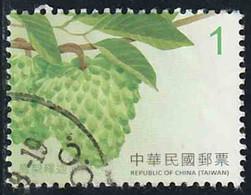 Taïwan 2016 Yv. N°3753 - Atemoya - Oblitéré - 1945-... République De Chine