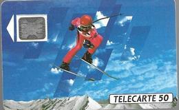 Telecarte 50 - XVIèmes Jeux Olympiques D'hiver - Sport