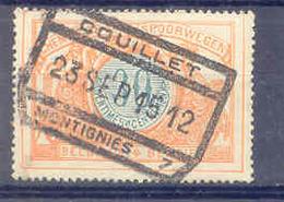A782 -België  Spoorweg Chemin De Fer Met Stempel COUILLET MONTIGNIES 7 - Chemins De Fer