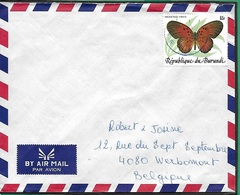 ! - Burundi - Lettre Avec 1 Timbre YT 899 - Envoi Vers Liège (Belgique) - Burundi