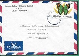 ! - Burundi - Lettre Avec 1 Timbre YT 898 - Envoi Vers Werbomont (Belgique) - Burundi
