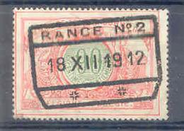 A800 -België  Spoorweg Chemin De Fer Met Stempel PONDROME - Bahnwesen