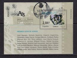 España 2011. Hoja Bloque De Premios Goya. Ed 4650. Usados. O. - 1931-Hoy: 2ª República - ... Juan Carlos I