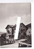 DOLOMITI POZZA ALBERGO MONZONI  VIAGGIATA 1955 - Autres Villes