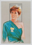 Central African Republic 1997 Princess Diana S/S - Central African Republic