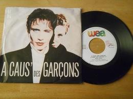 A Caus Des Gargon 1987 - 45 Rpm - Maxi-Single