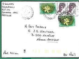 ! - Senegal - Enveloppe Avec 4 Timbres - Envoi Vers Nanêche (Belgique) - Cachet Du 21-09-1983 - Sénégal (1960-...)