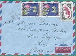 ! - Cameroun - Enveloppe Avec 3 Timbres - Envoi Vers Oupeye (Belgique) - Cachet Du 23/12/1973 - Cameroun (1960-...)