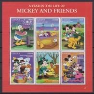 2470  Walt Disney - GHANA - 1997 A Year In The Life Of Mickey And Friends II . - Disney