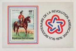 Central African Republic 1976 American Bicentennial S/S - Central African Republic