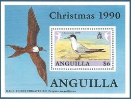 Anguilla Bloc N°88 Noël 1990 - Sterne Naine Neuf** - Anguilla (1968-...)
