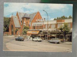 CP (93) Drancy  -  Eglise - Place M. Thorez - Citroën Ami 6 Break - Renault 12 - Drancy