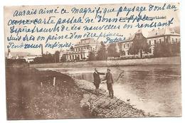 ROMANIA  , OLD POSTCARD OF DORNA - WATRA , KURHAUS UND KURPARKHOTEL . - Roemenië
