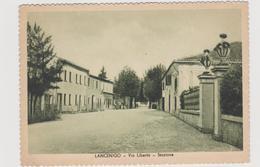 LANCENIGO (TV)  Stazione E Via Liberta' - F.G. - Anni  '1940 - Treviso