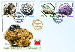 Romania 2018 / Minerals From Romania, Fdc - Minerals