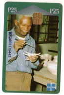 BOTSWANA REF MV CARDS BOT-08 P25 CERAMICS - Botsuana