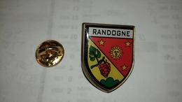 Pin's Blasons De Randogne - Pin's