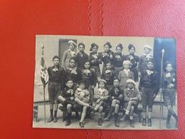 Classe 5° Elementare, Scuola Giuditta Cabani - Anno 1926 - Bandiera Regno D'Italia - Cartoline