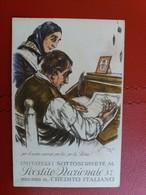 Sottoscrivete Al Prestito Nazionale 5% Presso Il Credito Italiano - Cartoline