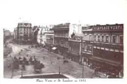 CPM - LIEGE - Place Verte Et St Lambert En 1895 - Liege