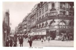 CPM - LIEGE - Rue Léopold - Liège