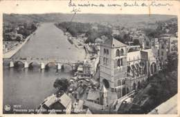HUY - Panorama Pris Du Fort Au-dessus De La Collégiale - Hoei