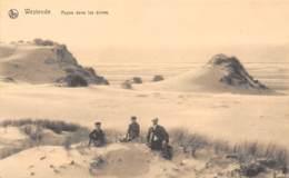 WESTENDE - Repos Dans Les Dunes - Westende