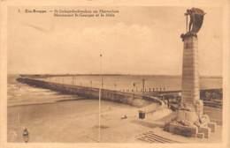 ZEE-BRUGGE - St-Jorisgedenkteeken En Havendam - Zeebrugge
