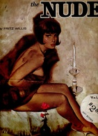 """The NUDE By Fritz WILLIS, PUBLISHED By Walter FOSTER """"HOW To DRAW"""" #96 ART BOOKS 32 PAGES Of  26X35 Cent. - Architecture/ Design"""
