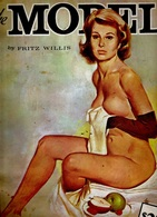 """The MODEL By Fritz WILLIS, PUBLISHED By Walter FOSTER """"HOW To DRAW"""" #117 ART BOOKS - Architecture/ Design"""