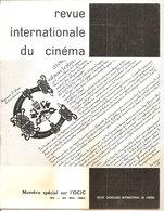 REVUE INTERNATIONALE DU CINEMA MAI 1962 An Française RIVISTA CINEMA FRANCESE - Riviste