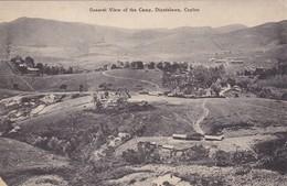 Postcard General View Of The Camp Diyatalawa Ceylon [ Sri Lanka ]  My Ref  B12734 - Sri Lanka (Ceylon)