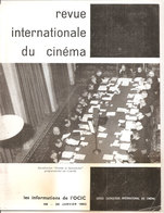 REVUE INTERNATIONALE DU CINEMA JANVIER 1962 An Française RIVISTA CINEMA FRANCESE - Riviste