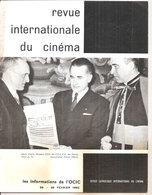 REVUE INTERNATIONALE DU CINEMA FEVRIER 1962 An Française RIVISTA CINEMA FRANCESE - Riviste