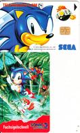 GERMANY(chip) - Sega/Sonic 2(O 218 B), Tirage 1500, 08/93, Mint - Germany