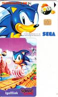 GERMANY(chip) - Sega/Sonic(O 218 A), Tirage 1500, 08/93, Mint - Germany