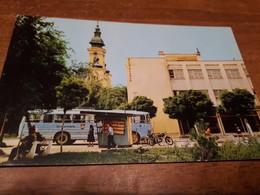 Postcard - Bosnia, Odžaci, Buses    (V 33802) - Bosnien-Herzegowina