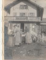 Photographie Ancienne 1902 Lavandières Chesières Suisse - Plaatsen