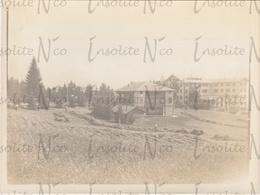 Photographie Ancienne 1902 Vue Du Grand Hôtel Villars Suisse - Lieux
